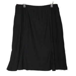 SPANX by Sara Blakely Black Midi Skirt
